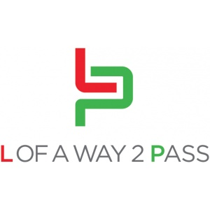 l of a way 2 pass logo