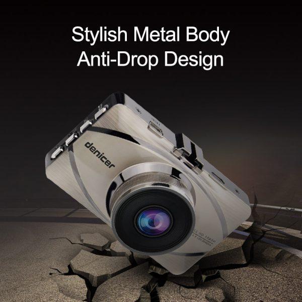 Car Recorder Top Autoregistrar Metal Dashcam Full HD 1080P Auto Recorder Night Vision IMX323 DVR 170 Registrator +Rear 2 Cameras 4