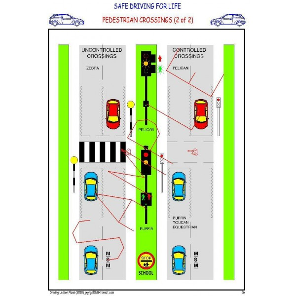 DRIVING LESSON PLANS - COVERS LATEST DRIVING TEST (By Email) 8