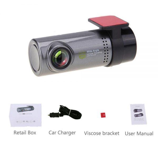 Dash Cam Mini WIFI Car DVR Camera Digital Registrar Video Recorder DashCam Auto Camcorder Wireless DVR APP Monitor Car Black Box 5