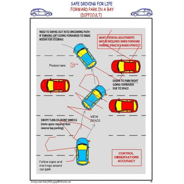 DRIVING LESSON PLANS - COVERS LATEST DRIVING TEST (By Email) 10