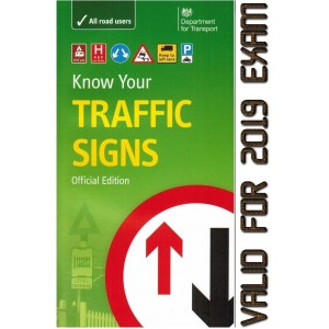 Road TRAFFIC signs book know your driving skills transport paperback theory test