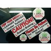 Driving instructor Learner Driver car Vinyl stickers decals Sign DVSA ADI DSA HQ
