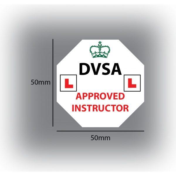 Set of 7 Learner Driver Sticker Car Driving Instructor DVSA Vinyl Signs Set 4