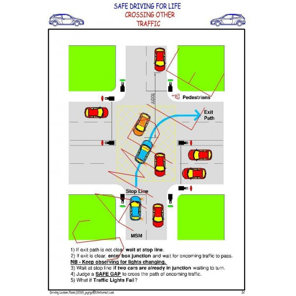 DRIVING LESSON PLANS - COVERS LATEST DRIVING TEST (By Email) 2