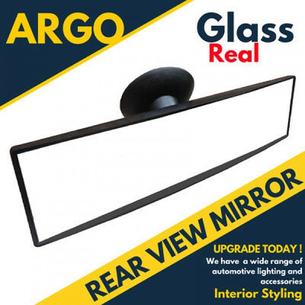 Rear View Suction Cup Driving Instructor Mirror Wide Angle Universal Fit