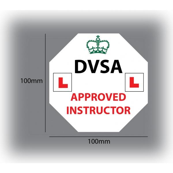 Set of 7 Learner Driver Sticker Car Driving Instructor DVSA Vinyl Signs Set 2