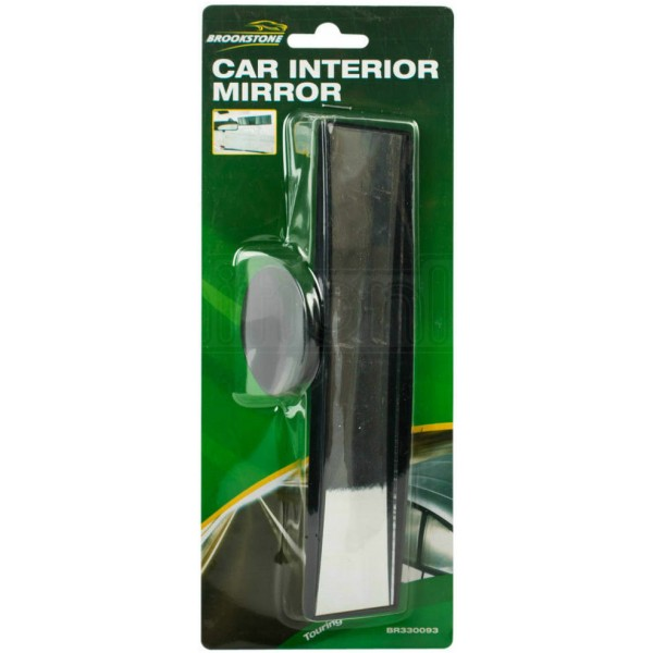 REAR VIEW MIRROR SUCTION CUP DRIVING INSTRUCTOR WIDE ANGLE UNIVERSAL FIT 4