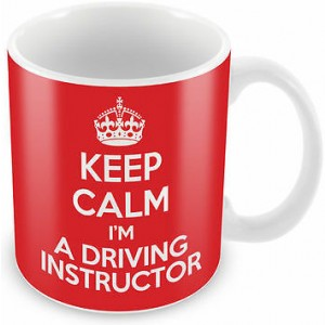 KEEP CALM I'm a Driving Instructor Mug - Coffee Cup Gift Idea present novelty