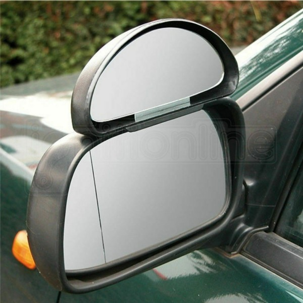 ADJUSTABLE BLIND SPOT MIRROR DRIVING INSTRUCTOR LEARNER CAR MIRROR Wide Angle 2