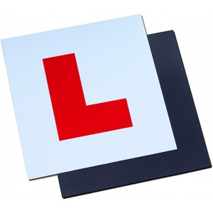 Magnetic L Plate Extra Thick Strong Learner Plate, -Gn Enterprise