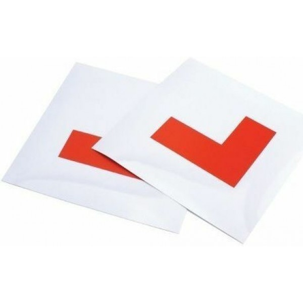 2 x FULLY Magnetic Exterior Car New Learner L Plates - Secure & Safe 1