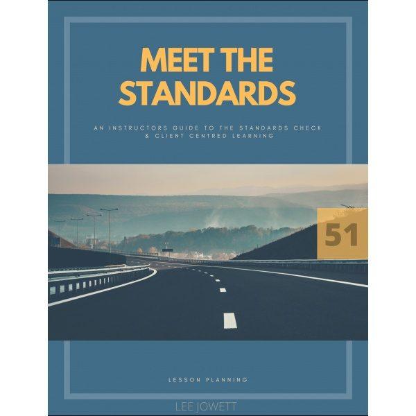 meet the standards book Lee Jowett i-Can Drive