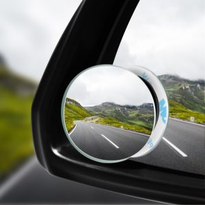 Car 360 Wide Angle Round Convex Mirror Car Vehicle Side Blindspot Blind Spot Mirror Wide Rear View Mirror Small Round Mirror 1