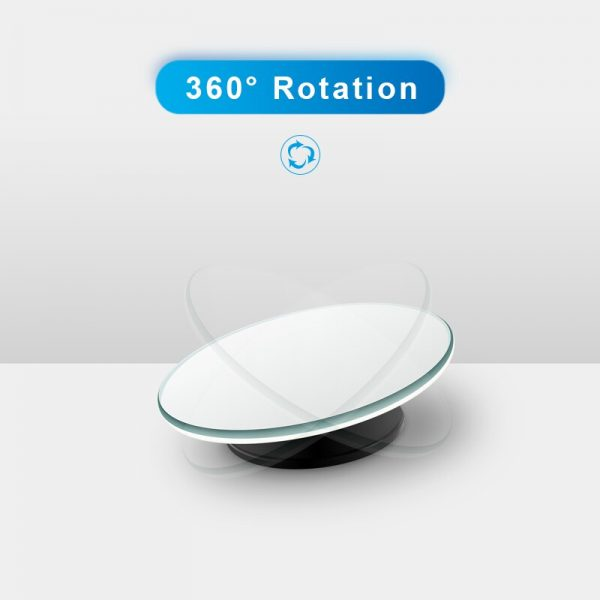 Car 360 Wide Angle Round Convex Mirror Car Vehicle Side Blindspot Blind Spot Mirror Wide Rear View Mirror Small Round Mirror 3