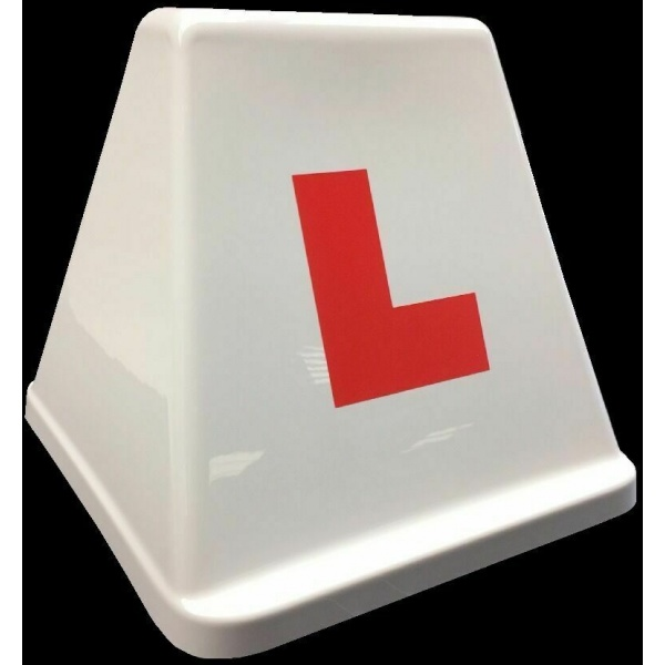 Driving Instructor headboard roof sign l plate driving school head